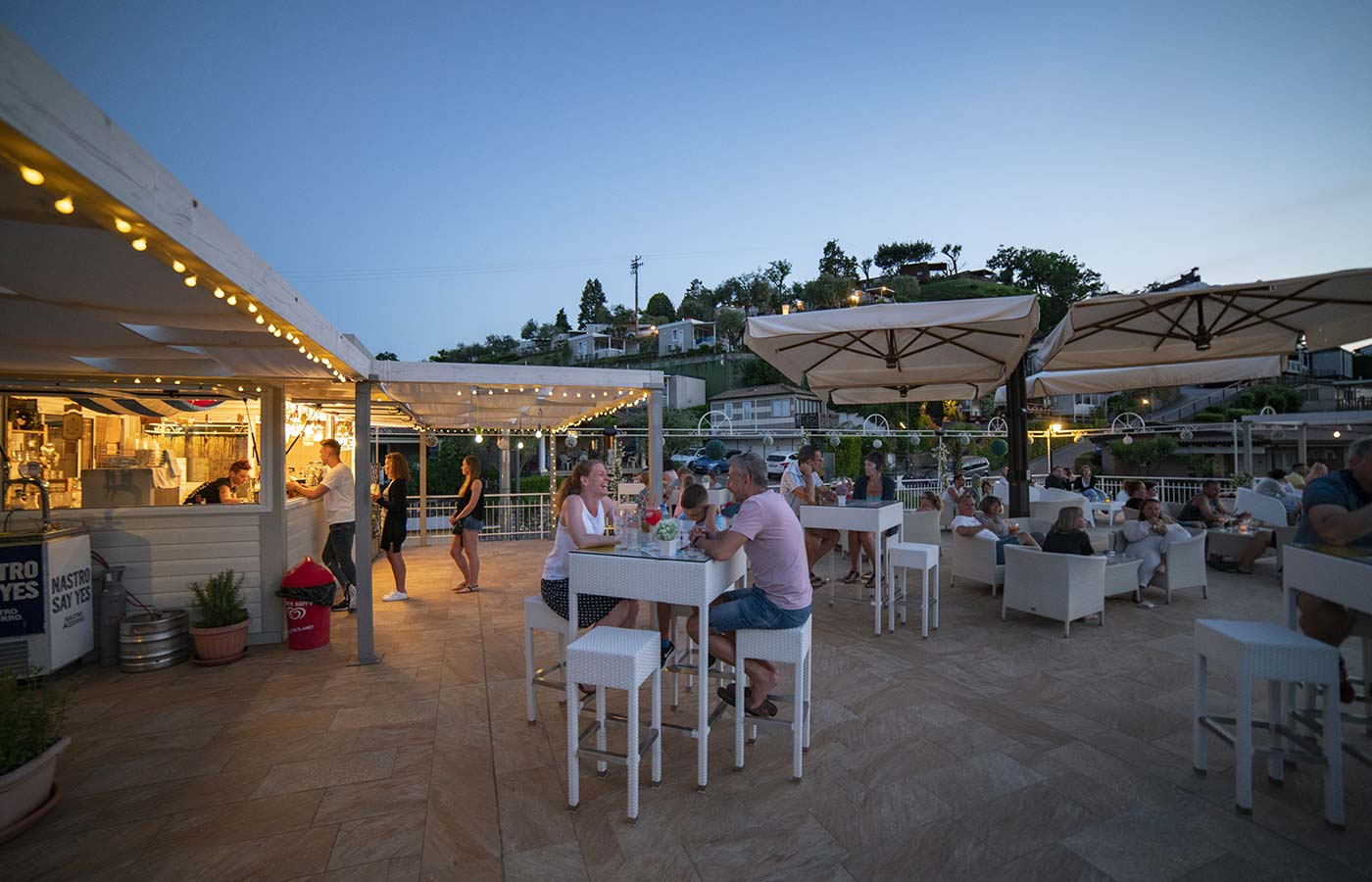 Restaurant, Pizzeria und Bar